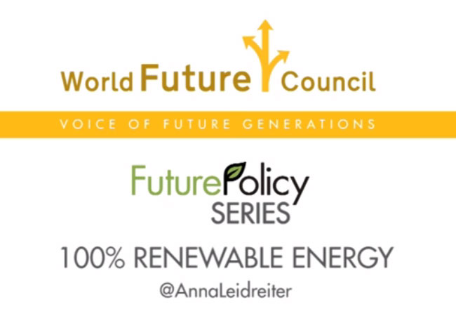 Future Policy Series - 100% Renewable Energy / Video: WFC