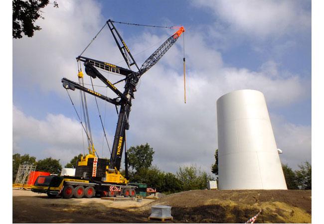Die vorgesehene Begrenzung des Windenergie-Zubaus in Norddeutschland aufgrund fehlender Netzkapazitäten konterkariert / Foto: HB
