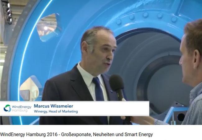 WindEnergy Hamburg 2016 - Großexponate, Neuheiten und Smart Energy / Video