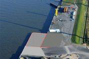 Start der Bauarbeiten am Liegeplatz 9.3 in Cuxhaven / Pressebild: Niedersachsen Ports GmbH & Co. KG