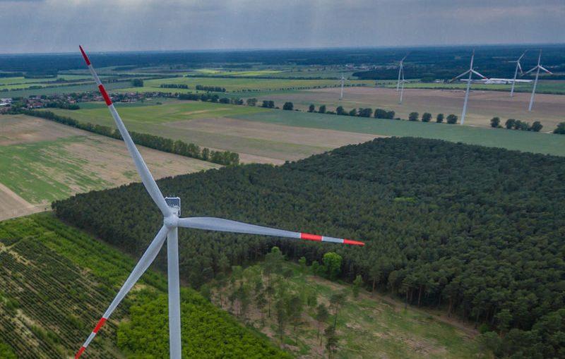 Neuer Windpark Lüdersdorf II am Netz / Pressebild
