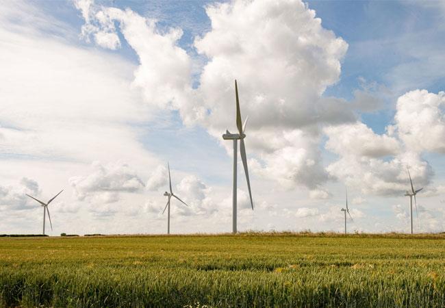 Windpark Fraisthorpe bei Bridlington / Pressebild