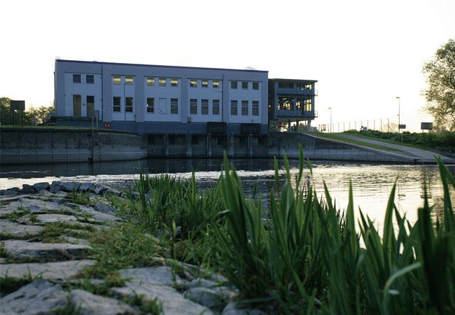 Wasserkraftwerk Bochum-Stiepel / Pressebild