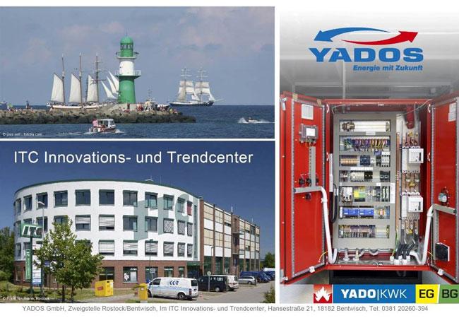 YADOS gründet Betriebsstätte in Rostock / © 2016 YADOS GmbH