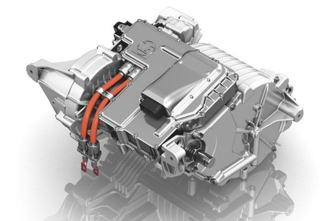 ZF E-Achsantrieb 1 / Leicht, leise, leistungsstark: Das vollintegrierte elektrische Achsantriebssystem von ZF wird 2018 in Serie gehen. / Pressebild