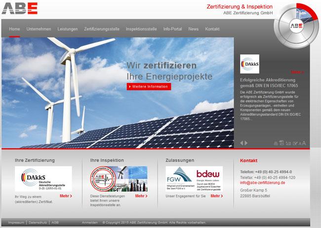 ABE Zertifizierung GmbH erfolgreich bei Energie-Erzeugungsanlagen ...