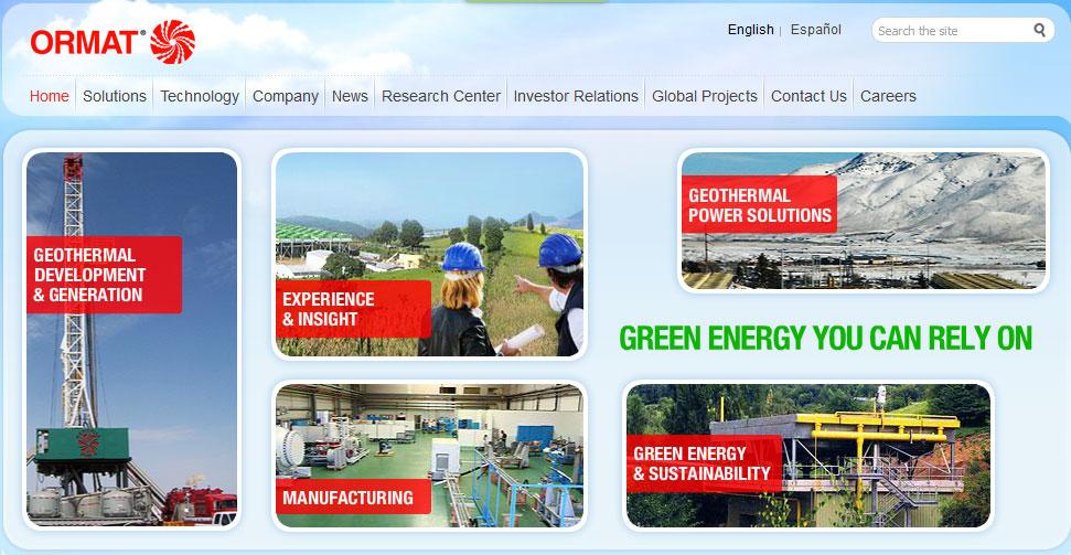 geothermie ormat technologies steigert geothermische produktion von